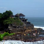 At Tanah Lot Bali