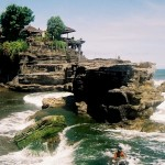 Tanah Lot Bali The Temple On The Rock or the Sea Temple